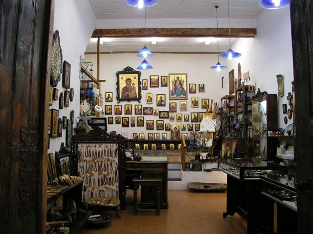 Looking inside the Greek Icon workshop and studio of Ioannis and Yiorgia Petrakis